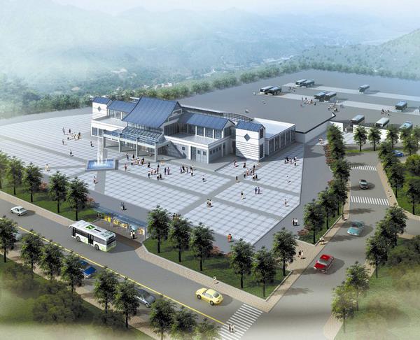 洞天福地游客综合服务中心项目