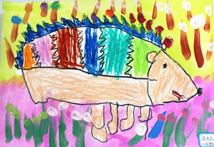 《小刺猬背果子》启蒙班(3周岁)