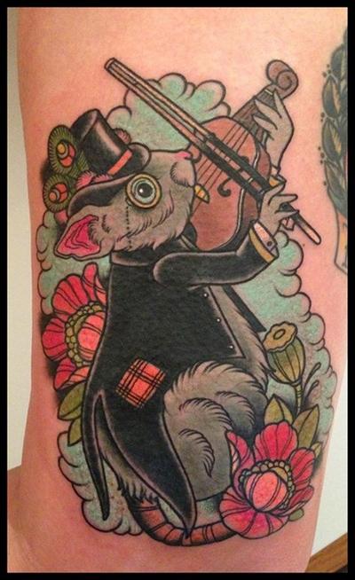 纹身――属马保护神_纹身图案
