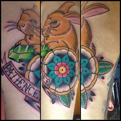 兔子纹身素材参考