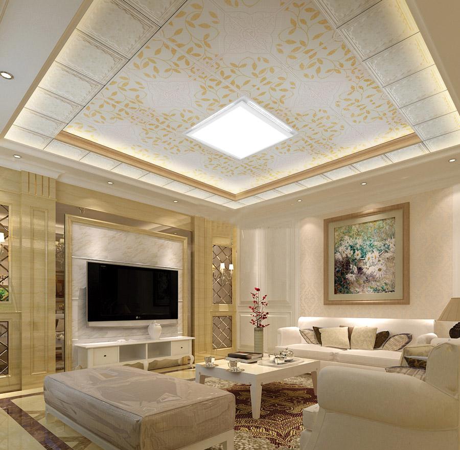 高清超实用的 客厅,餐厅,卧室吊顶效果图(疯狂转载!