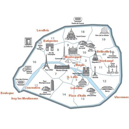巴黎迪士尼地图中文版