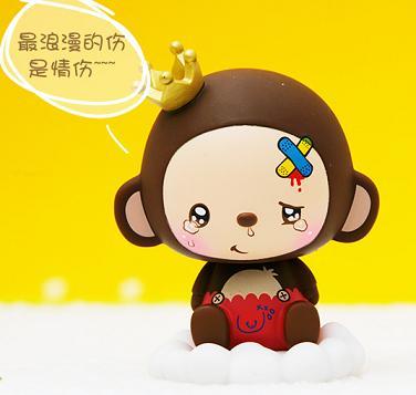 2017微信猴幸运头像