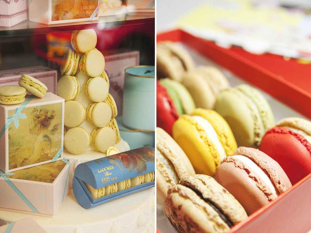 马卡龙甜品logo素材